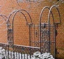 Rozenbogen met poort